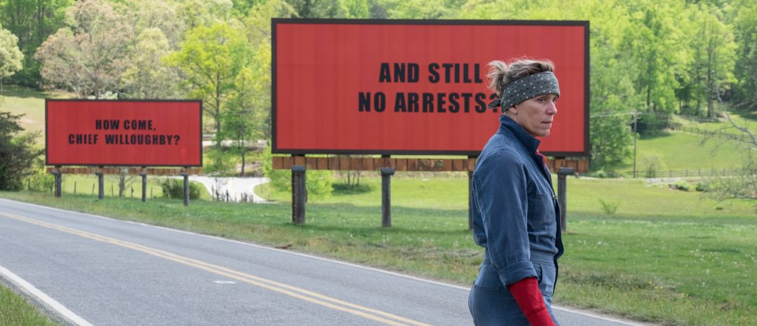 «Three Billboards Outside Ebbing, Missouri» ligger an til å få mange Oscar-nominasjoner.