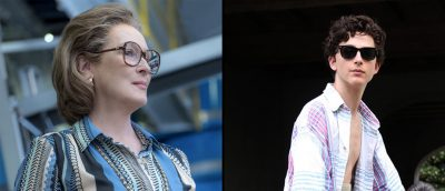 Meryl Streep og Timothée Chalamet er Golden Globe-nominerte for henholdsvis «The Post» og «Call Me by Your Name».
