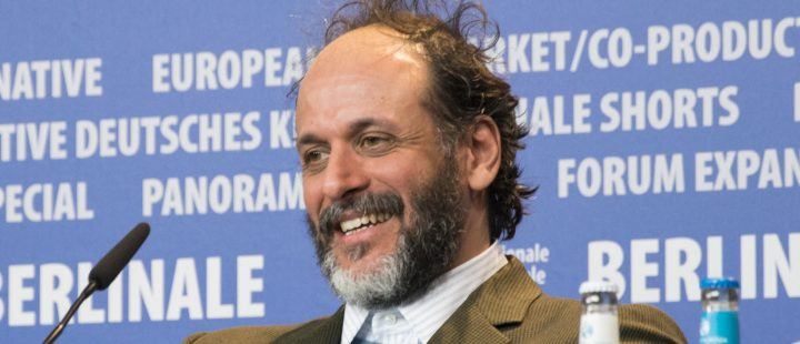 Luca Guadagnino under pressekonferansen for «Call Me By Your Name» i Berlin tidligere i år. (Foto: Wikipedia Commons.)