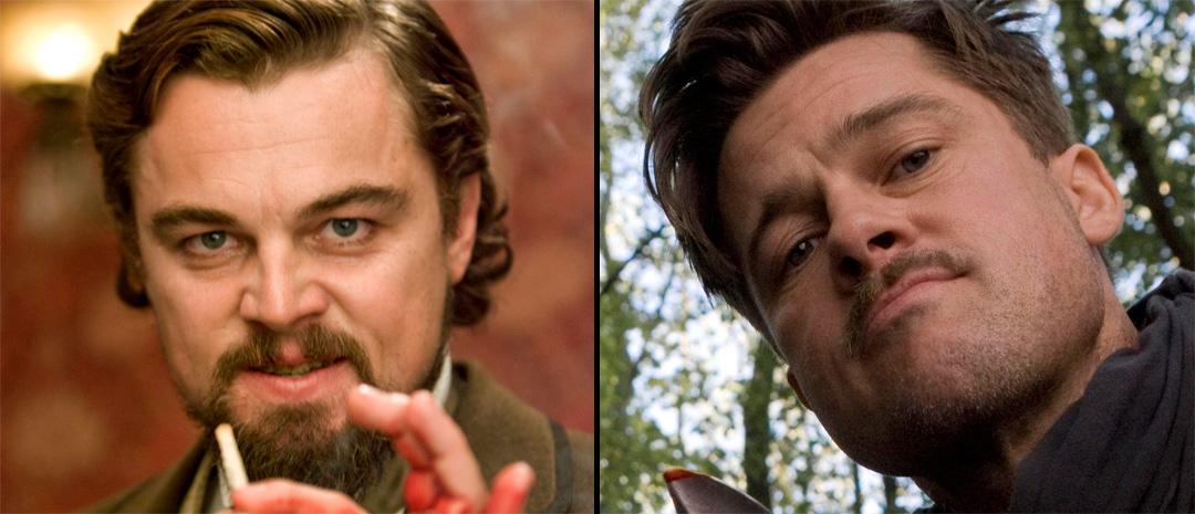 Klare for ny film med Tarantino: Leonardo DiCaprio («Django Unchained») og Bradi Pitt («Inglourious Basterds»).