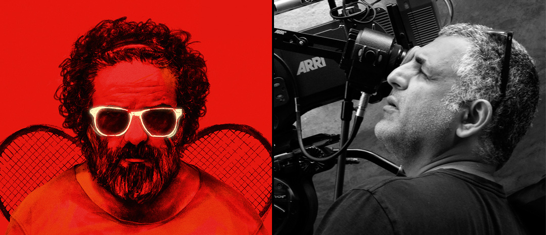 Fra venstre: Mani Haghighis «Pig» (2018) og et regissørportrett.