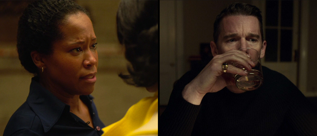 Regina King i «If Beale Street Could Talk» og Ethan Hawke i «First Reformed».