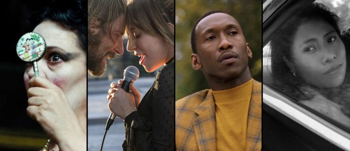 «The Favourite», «A Star is Born», «Green Book» og «Roma».