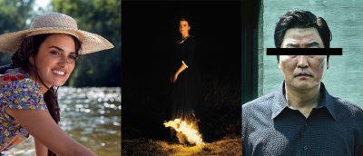 Pedro Almodóvars «Pain & Glory», Céline Sciammas «Portrait of a Lady of Fire» og Bong Joon-hos «Parasite».
