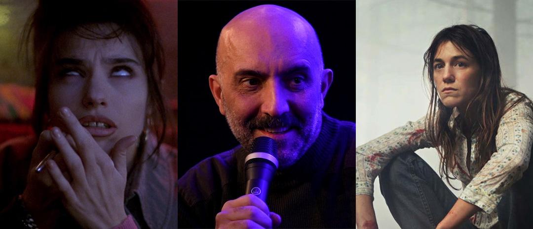 Béatrice Dalle, Gaspar Noé og Charlotte Gainsbourg.