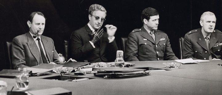 Mektige menn i lukkede rom: Dr. Strangelove