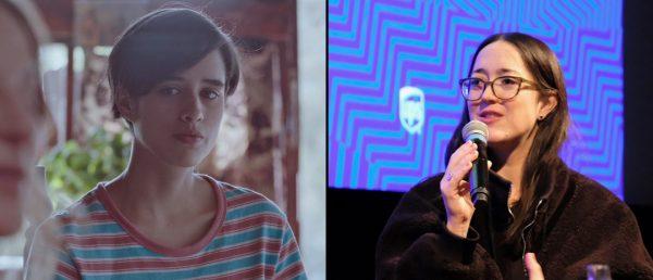 Fra venstre: Demian Hernández i «Godt nyttår, Chile» og Dominga Sotomayor Castillo, fra møtet med publikum i Oslo under Film fra sør 2019. (Foto: Arthaus / Ingvild Vaale Arnesen, Film fra sør)