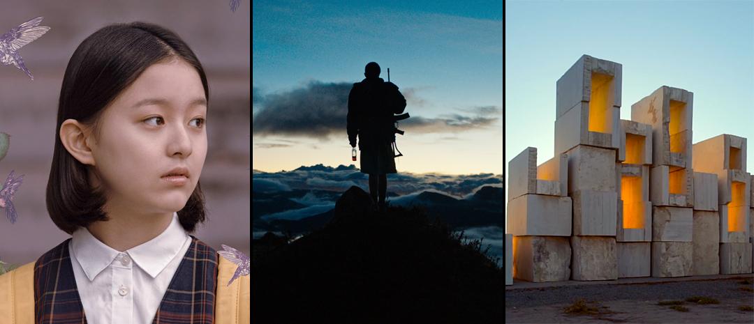 Fra fra sør-anbefalinger, fra venstre: «House of Hummingbird», «Monos» og «The Cordillera of Dreams».