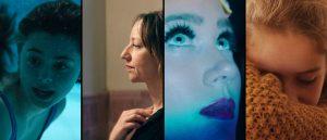 Nominerte til Kanonprisen 2020, fra venstre: «Psychobitch», «Håp», «Disco» og «Barn».