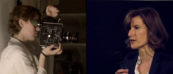 Honor Swinton Byrne i «The Souvenir» og regissør Joanna Hogg (foto: Benedikt Reiter, Wikimedia Commons, lisens CC-BY-2.0. Bildet er beskåret fra originalen.)