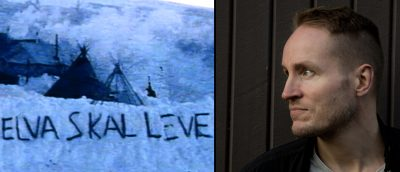 Ole Giæver skal i gang med filmen «La elva leve». (Bilder: Faksimile fra dokumentarfilmen «Vendepunktet» (2011) / regissørportrett [Mer Film])