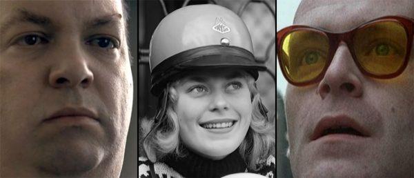 Fra venstre, norske kortfilmer i Cannes-programmet: «Sniffer» (2006, Peers), «Fartsfeber» (1958, Carlsby) og «Naturlige briller» (2001, Lien)