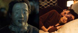 Fra venstre: Jonathan Glazers «The Fall» og Yorgos Lanthimos' «Nimic».