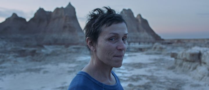 Klar for hovedkonkurransen i Venezia 2020: Frances McDormand i Chloé Zhaos film «Nomadland». (Foto: Searchlight Pictures)