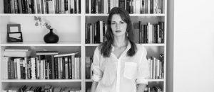 Forfatter og redaktør Roskva Koritzinsky. (Foto: Håkon Borg.)
