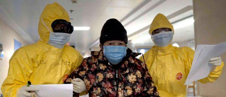 Fra koronavirus-dokumentaren «76 Days» (2020), som er på Film fra sør-programmet.