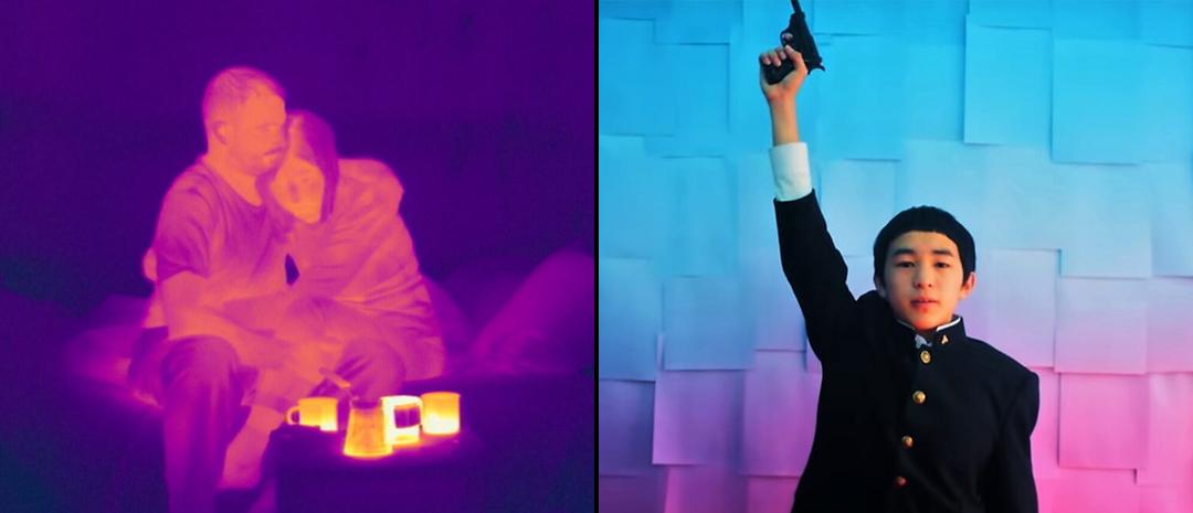 Fra venstre: Valentín Vasyanovitsjs «Atlantis» og Makoto Nagahisas «We Are Little Zombies».