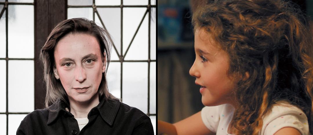 Regissør Céline Sciamma (foto: Håkon Borg/Magpie Visuals) og Malonn Lévana fra «Tomboy» (2011).
