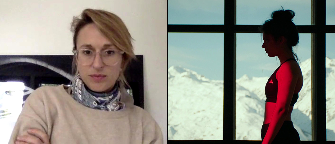 Den franske regissøren Charlène Favier snakker med Montages om sin nye film «Slalom».