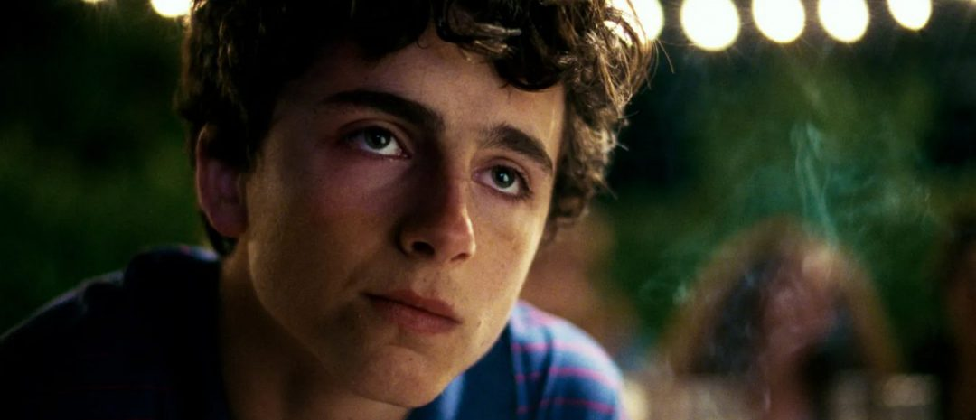 Timothée Chalamet som Elio i «Call Me By Your Name».