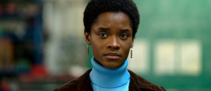 Letitia Wright i «Small Axe»-kapittelet «Mangrove», som snart blir å se på NRK.