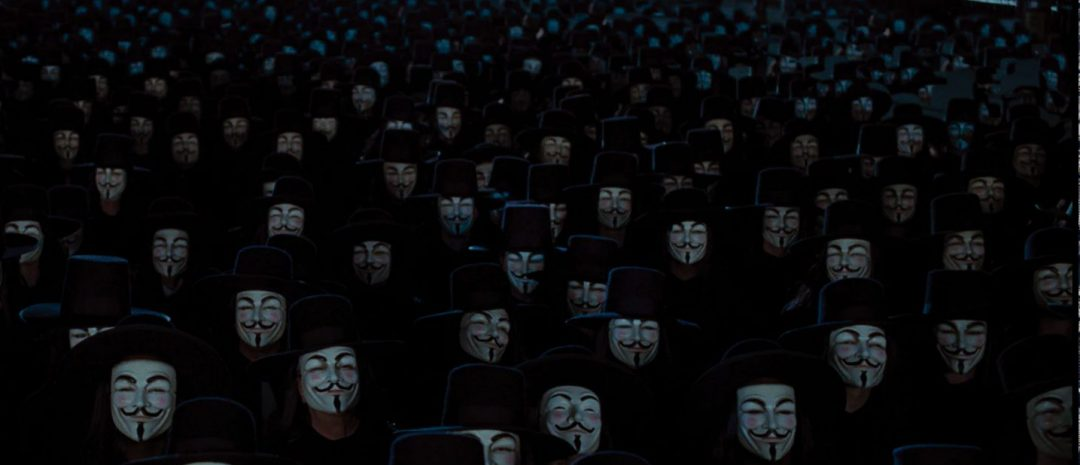 «V for Vendetta» (James McTeigue, 2005).
