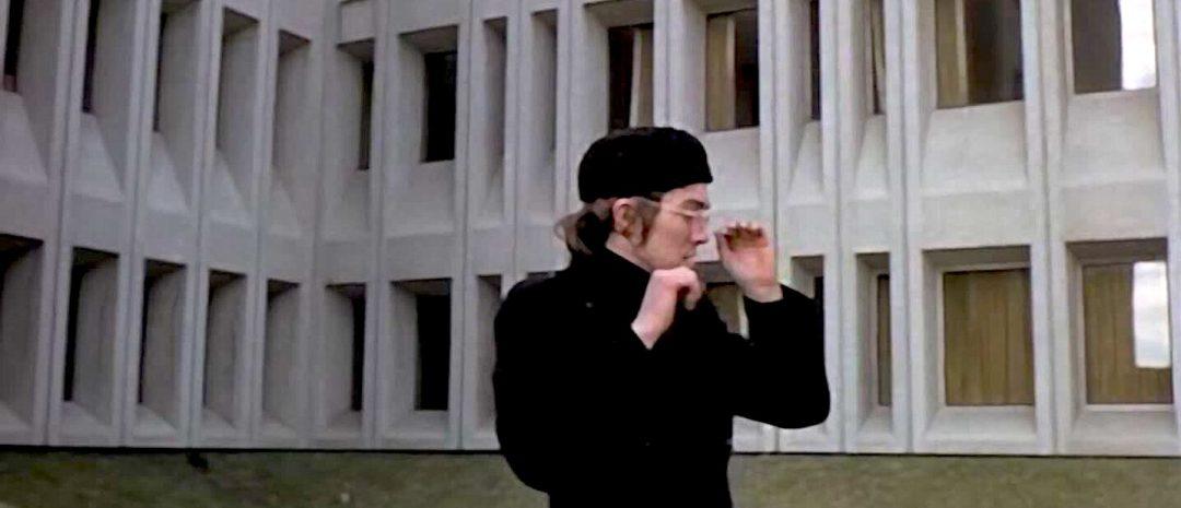 Dette bildet er hentet fra David Cronenbergs 63 minutter lange studentfilm «Crimes of the Future» fra 1970.