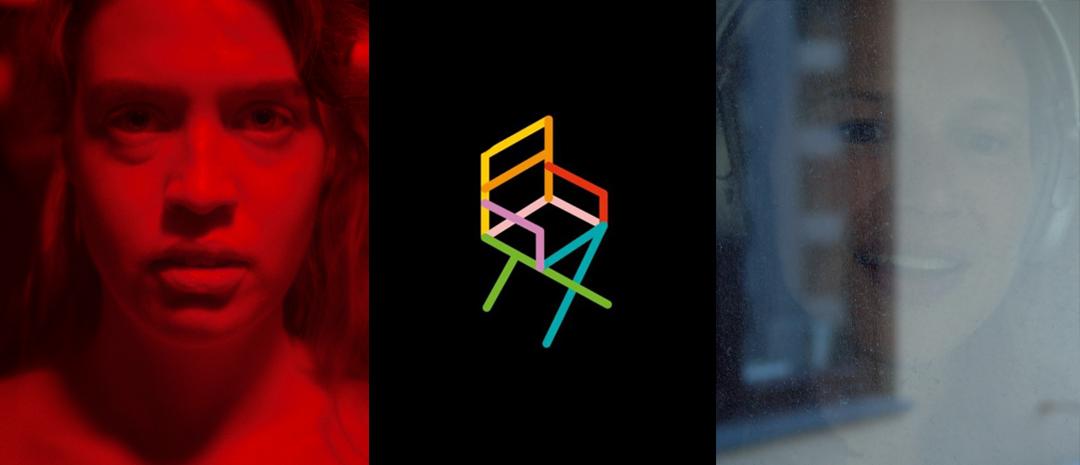 Fra venstre, kortfilmene «Eksponert» (Anna Fredrikke Bjerke) og «Karlsens i karantene» (Tove Undheim).