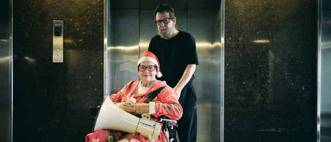 Ghita Nørby og Lars von Trier er tilbake på Riget (foto: Henrik Ohsten).