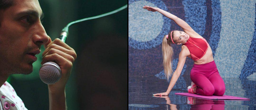 Vises på Oslo Pix 2021 (fra venstre): «Mogul Mowgli» og «Sweat» .