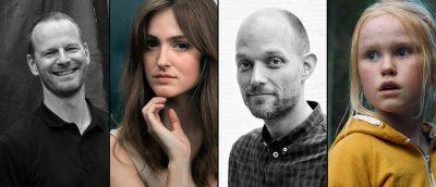 Klare for Cannes: Joachim Trier, Renate Reinsve i «Verdens verste menneske», Eskil Vogt og Rakel Lenora Fløttum i «De uskyldige»,