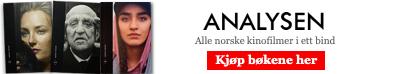 Analysen - Norsk film 2015. Kjøp boka! (annonse)