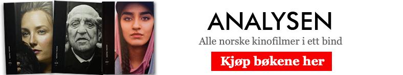 Analysen - Norsk film. Kjøp bøkene! (annonse)