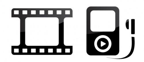 Filmpodkast ikoner